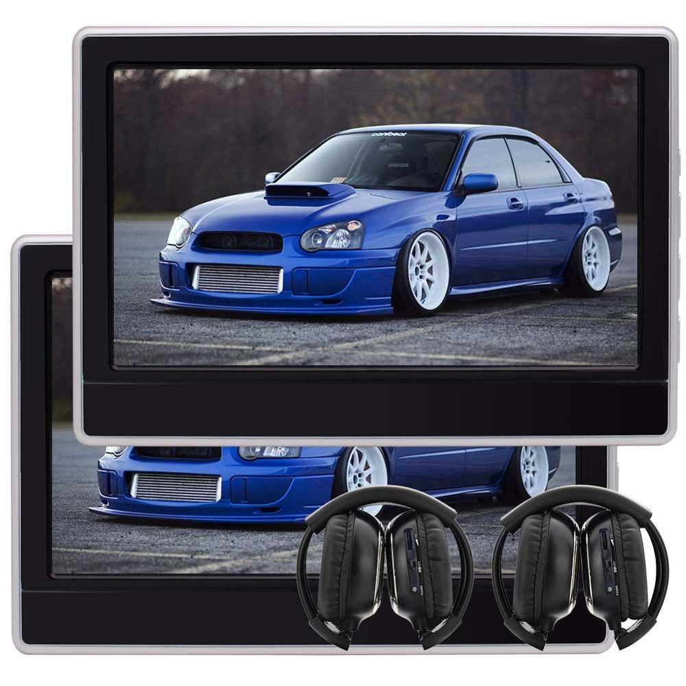 EinCar 11,6 ''ЖК-дисплей Экран подголовник автомобиля DVD игровой монитор HDMI Порты и разъёмы Tablet подголовник сиденья Поддержка 32 бита игры Беспров...