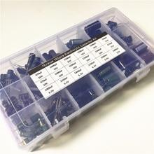 18 valore 160pcs 6.3V 10V 16V 25V 330uF 470uF 1000uF 1500uF 1800uF 2200F condensatore 3300uF kit Condensatori Elettrolitici In Alluminio
