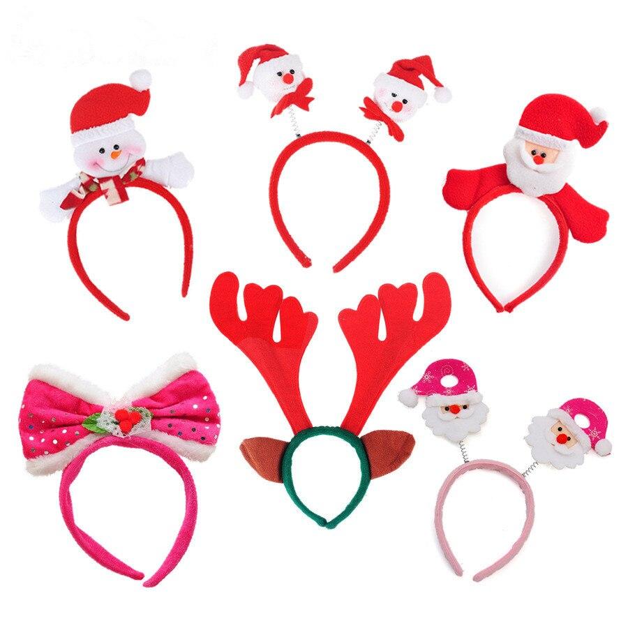 크리스마스 용품 산타 클로스 눈사람 머리띠 크리스마스 바둑 놀이 어린이 날 할로윈 코스프레 키즈 선물 Freeshipping