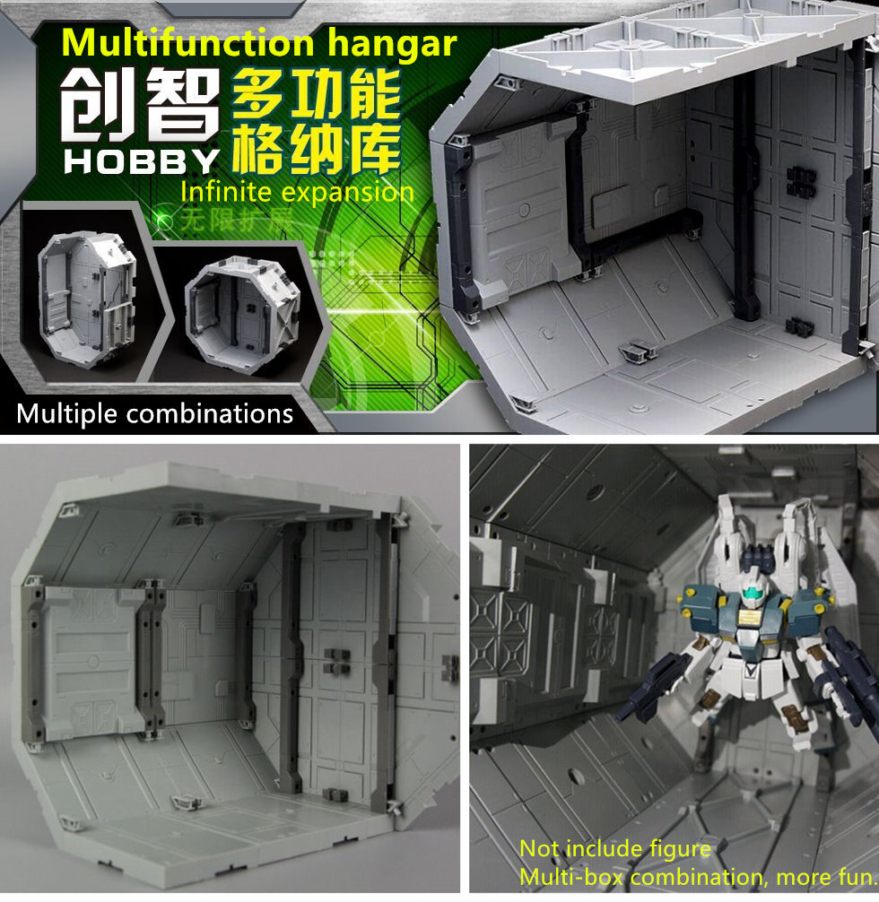 ChuangZhi Hobby Multifunction Octagon HHANGAR for Bandai MG HG Gundam free combination