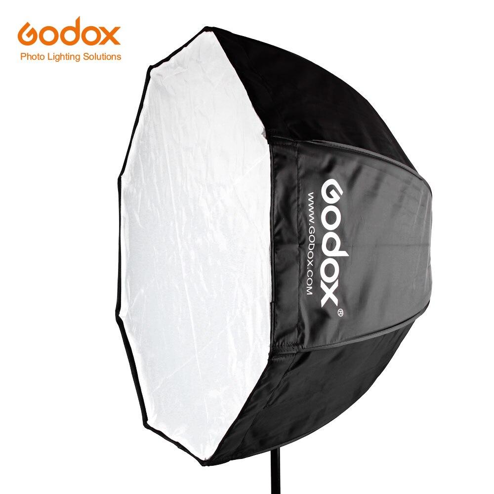 Godox 120cm / 47in Godox Portable Octagon Softbox Umbrella Brolly Reflector For Speedlight Flash