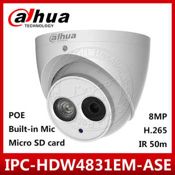 Dahua IPC-HDW4831EM-ASE 4K 8MP POE English FirmwareR 50m Security Camera Built-in Mic Support SD Card Replace IPC-HDW4830EM-AS - DISCOUNT ITEM  28% OFF All Category