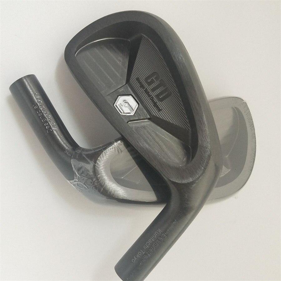 Playwell 2018 GTD golf tête de fer noir fer forgé en acier au carbone de golf tête pilote bois de fer putter