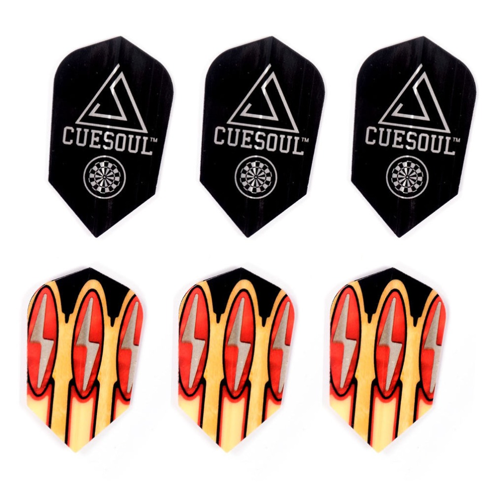CUESOUL 3pcs Set Professional 24g Brass Steel Tip Darts With Nice Dart Flights Aluminum Dart Shaft Sports in Darts from Sports Entertainment