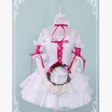 Chobits Chii Black White Lolita Party Anime Dress Cosplay Costume 2 Colors  Custom-made Any Size 8be78ed38423