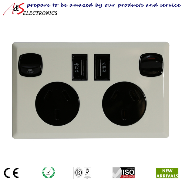 Australian double power point with built in usb sockets directly australian double power point with built in usb sockets directly charging mobile devices smartphone usb asfbconference2016 Images
