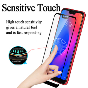 Image 3 - Protective glass on for Xiaomi redmi note 6 pro 6a a tempered glas ksiomi xiomi a6 6pro Screen Protector flim safety sheet armor