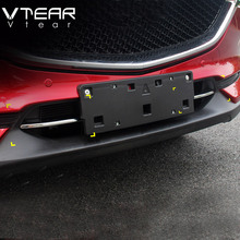 Vtear For Mazda CX 5 CX5 2017 2018 accessories Front Grille Grill Bottom Cover trim Exterior