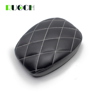 Motorcycles Rear Pillion Cushion Passenger Seat For Harley Sportster XL1200 883 72 48