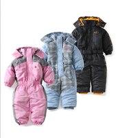 Baby Snowsuit Autumn Winter Windproof Baby Girl Baby Boys Romper Polyester Windproof Snowsuit Ropa De Bebe