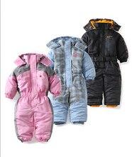 Bébé habit de neige automne hiver coupe-vent bébé fille bébé garçons barboteuse polyester coupe-vent habineige ropa de bebe bébé vêtements