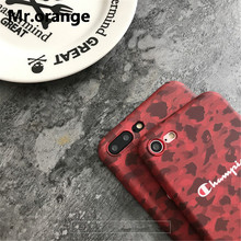 CHAMPION Camouflage Phone Case iPhone 6 6s Plus 7 7 Plus 8 X XR XS Max