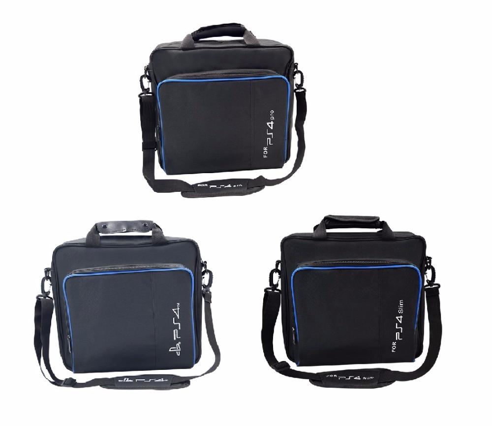Klug Tragbare Schützen Schulter Tragen Tasche Für Ps4/ps4 Pro Schlank Spiel Sytem Lagerung Tasche Original Größe Für Playstation 4 Konsole Handtasche Taschen Videospiele