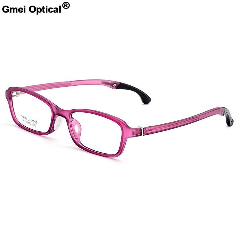 Gmei Optical Urltra-Light TR90 Students' Full Rim Optical Eyeglasses Frames Women's Plastic Myopia Presbyopia Spectacles M8002