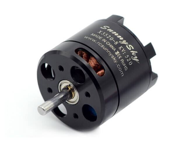DXF SUNNYSKY X3520 KV520 KV720 KV880 Outrunner Brushless Servo Motor for Skyhunter 6S airplane for FPV Quadcopter drones sunnysky x3525 520kv 720kv 880kv brushless motor x series kv520 kv720 kv880 motor kit for fpv multicopter quadcopter drone uav