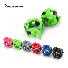 Six-color 50mm large buckle fitness equipment weightlifting dumbbell accessories barbell pole weight plate free shipping