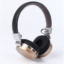KAPCIAE Plus Wireless Bluetooth Headphone / headset dengan Mikrofon / Mikro bluetooth fon kepala / alat dengar