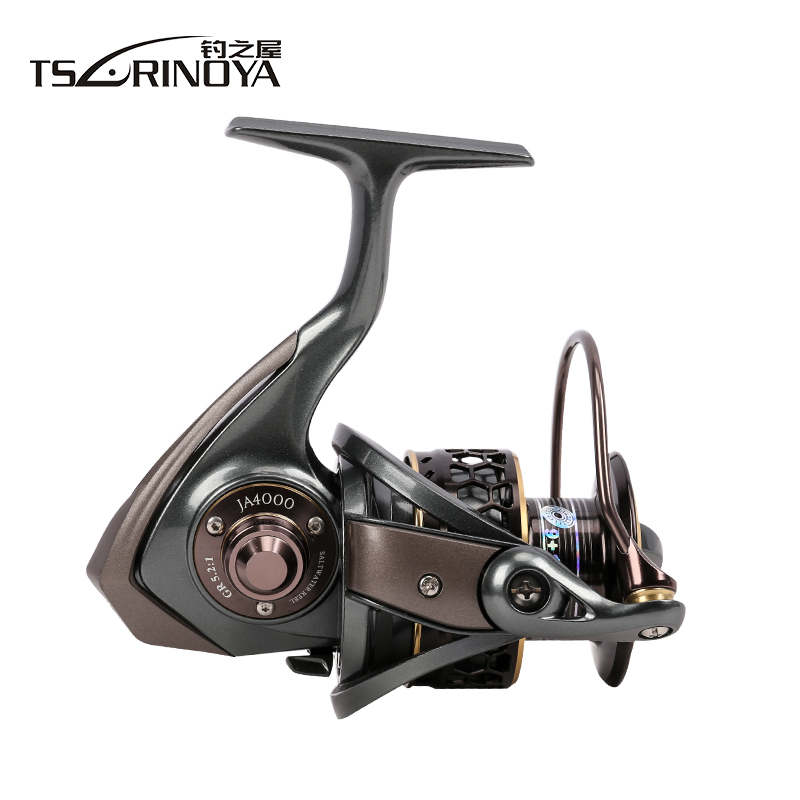 TSURINOYA Jaguar 4000 Spinning Fishing Reel Double Spools 9 + 1BB - Visvangst - Foto 4
