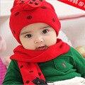 Invierno Oreja Sombrero Caliente 2017 nueva marca de moda del bebé del sombrero bebé Niño Pequeño Infantil Chicos Chica Hat Gorro de Ganchillo Conejo HT08