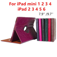 For Ipad Air 9 7 New Arrivel PU Leather Flip Tablet Case For Apple IPad Mini