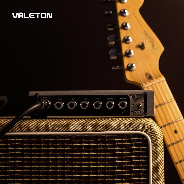 Valeton Guitar Amp with Reverb Distortion Overdrive Asphalt TAR-20G Pedal Platform Amplifier Head with CAB SIM 1