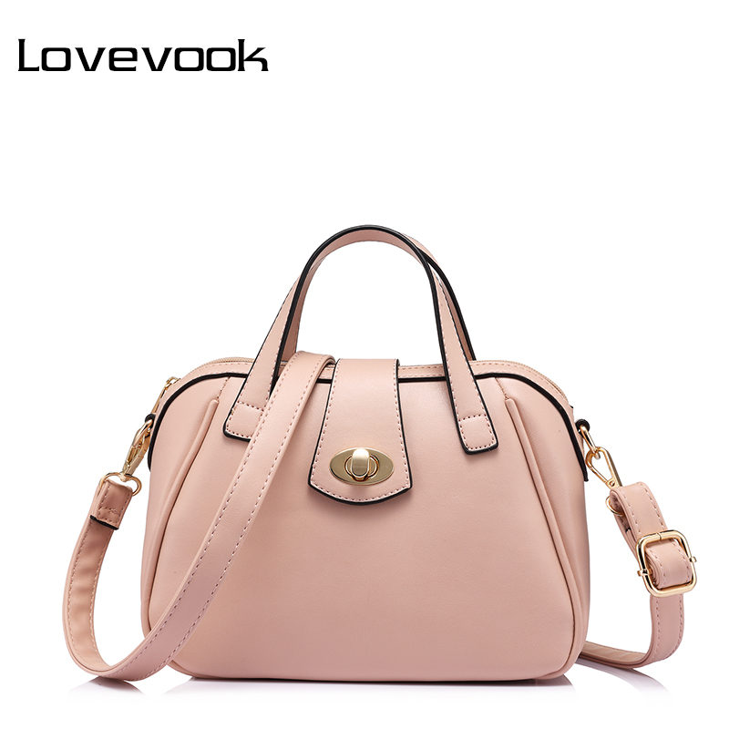 LOVEVOOK brand fashion luxury handbags women bags designer high quality messenger bag female doctor shoulder bag Pink/Blue/Red tcttt luxury handbags women bags designer fashion women s leather shoulder bag high quality rivet brand crossbody messenger bag