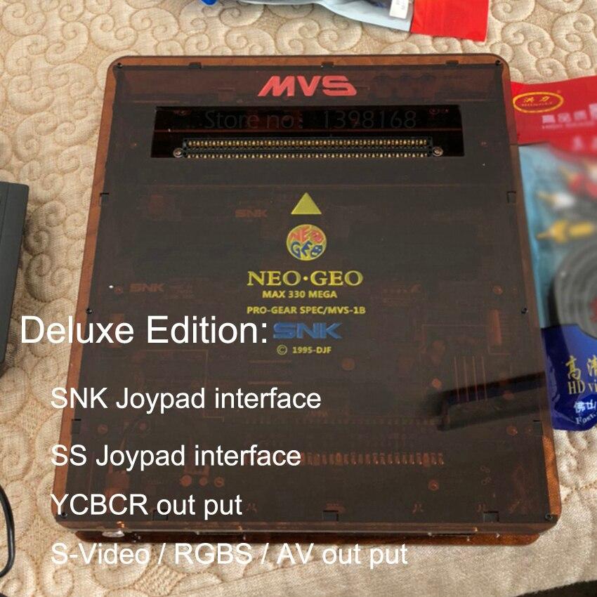 MVS NEOGEO MVS-1B à DB 15 p JAMMA CBOX SS Gamepad SNK Joypad AV RGB Sortie Pour NEOGEO SNK 161 dans 1/SNK 120 dans 1 Cartouche