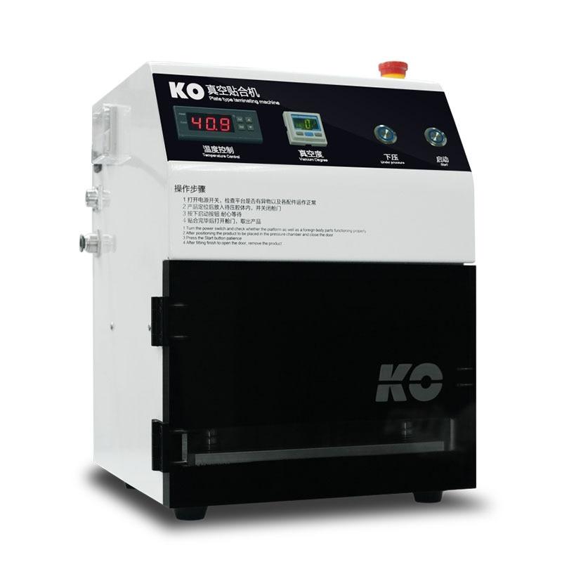 России нет налога KO 7 автоматического Вакуумный ОСА экран ламинатор + воздушный компрессор + Вакуумный Насос