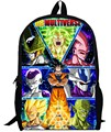 17inch dragon ball backpack double layer children anime Kids bag custom made dragon ball Z Resurrection 'F' Cartoon boy men bags