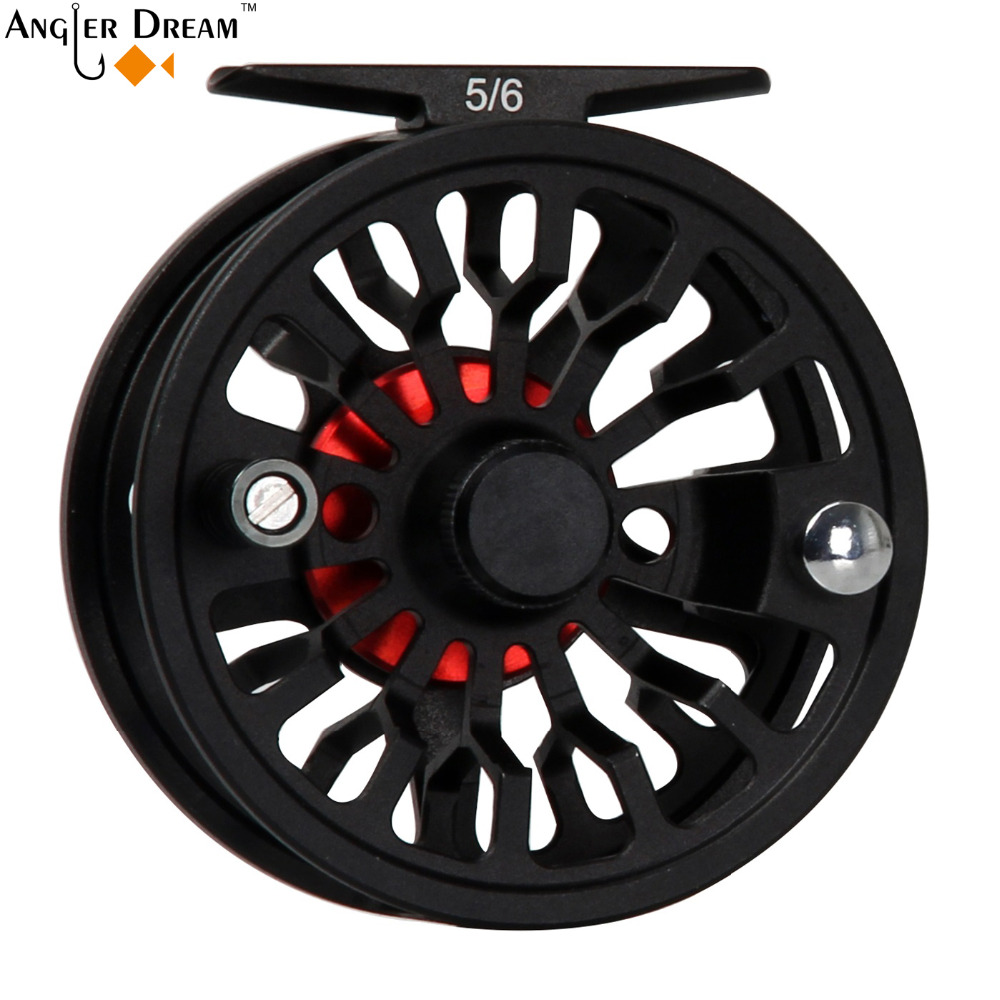3/4 5/6 7/8 Wt Fly Reel Combo Large Arbor Cnc Machined Aluminum Fly Fishing Reel