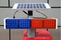 Выше звезды 40 Вт LED solarpower сигнальные лампы, безопасности дорожного движения мигалки, водонепроницаемый