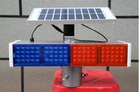 Higher star 40W led solarpower warning lights,road safety traffic emergency lights,waterproof