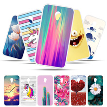 Bolomboy Painted Case For Alcatel U5 Silicone Soft TPU Cases 4047 5044 5047 Cover Wildflowers Animal Bags