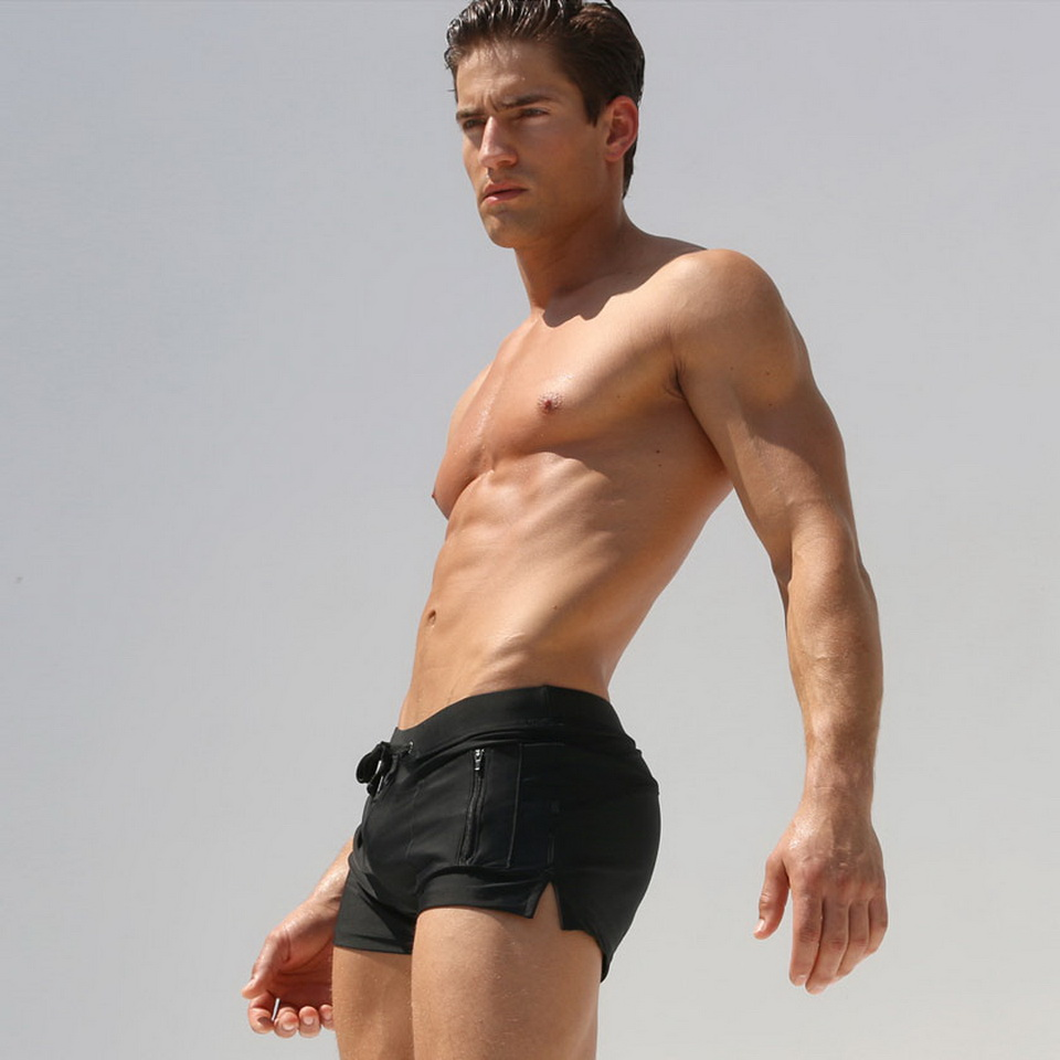 AUSTINBEM boxers pocket sungas de praia homens swimsuit men badpak - Sportswear and Accessories - Photo 4