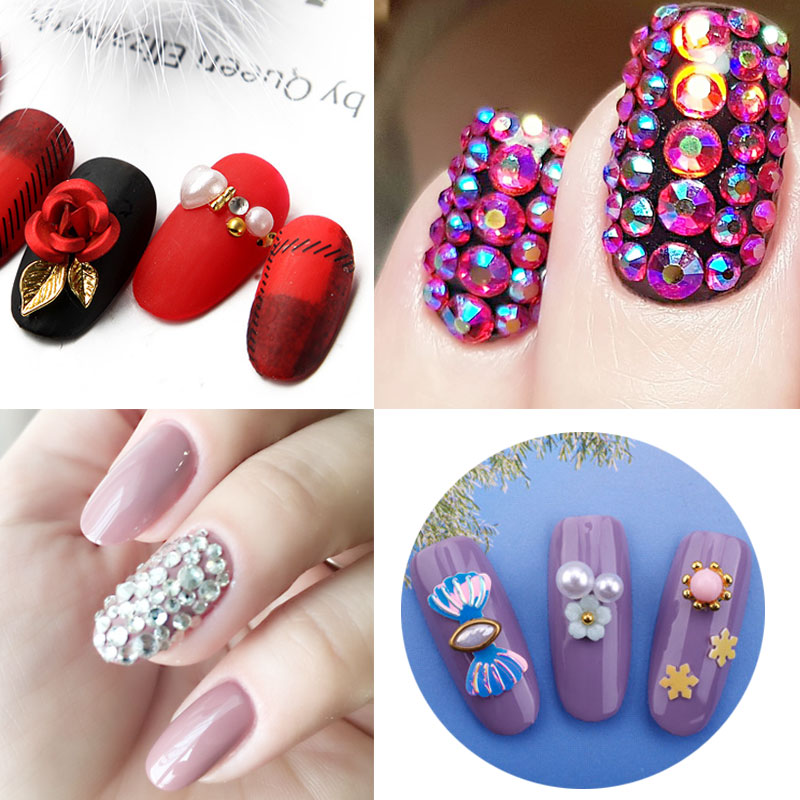 85b70a5493 Beateal 8ML Hot sale Super Sticky 8ml UV Gel Nail Polish Glue Crystal  Adhesives Transparent Clear Gel Nails Crafts Decor Tools