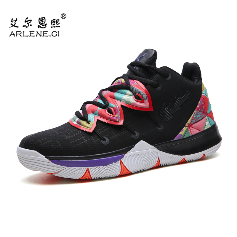 Professional Men Basketball Shoes High Top Athletic Sneakers Sport Man Basket Shoes Men Trainers Zapatos Hombre Kyrie Irving 5