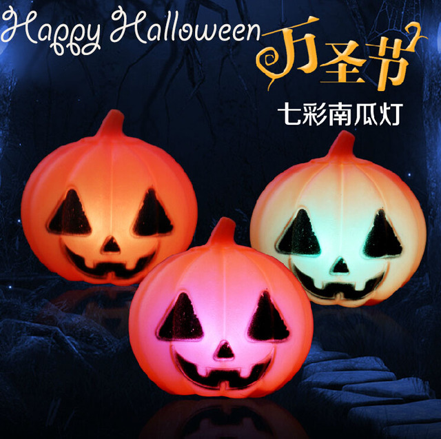 Fashion new halloween decoration pumpkin skull led changeable color fashion new halloween decoration pumpkin skull led changeable color light halloween bar party stage set suppliers aloadofball Gallery