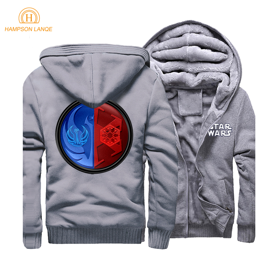 Movie Star Wars Sith Empire The Old Republic Logo Men Hoodies Sweatshirts 2019 Spring Warm Fleece Mens Hooded Jackets CM01