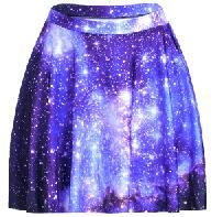 S To 4xL Sexy Blue Galaxy Paisley Women's Summer Skirts Womens Above Knee Mini Skater Skirts Plus Size 3 Patterns 8