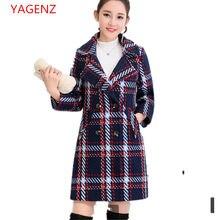 a096dddf0b8b Mulheres encabeça tamanho Grande casaco De Lã Das Mulheres casaco de inverno  NEW100 % moda Grosso