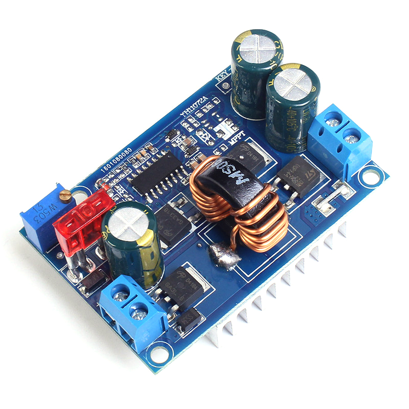 DC-DC 5-32V To 1.25-20V Automatic Step-Up/Down Power Module Boost Buck Converter 5A Solar Wind Power Voltage Adjustable