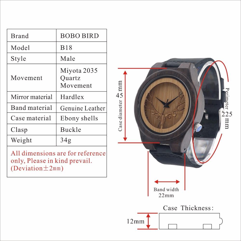 Wooden Quartz Watches Hollow Design Dial Clock Man relogio masculino C-B18