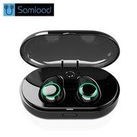 Samload TWS True Wireless Earphone Headset Auriculares Bluetooth Earphone Buds With Mic Mini Music Earbuds Earpiece