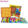 [Bainily] diy del rompecabezas de los niños pequeños a enlighten juguete botón pintura 3d rompecabezas uñas hongo entre padres e hijos la interacción