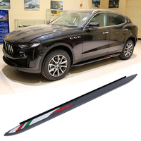 Special offer Advanced carbon fiber car pedals Side Step Running Board For Maserati Levante 2016 door steps NerF Bars