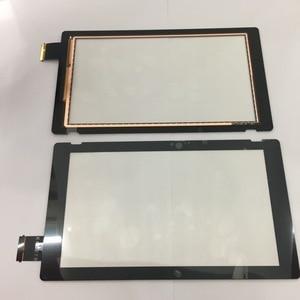 Image 3 - الأصلي ل نينتندو سويتش NS وحدة التحكم شاشة الكريستال السائل قطع غيار للشاشة التي تعمل باللمس