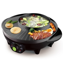 Electric Hot Pot SK-J3201 Home Multi-function Electric Baking Pan Non-stick Baking One-pot Grill