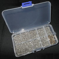 10 types screws nuts assortment for glass frames