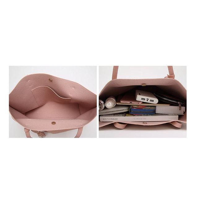 Tassel Tote Handbag