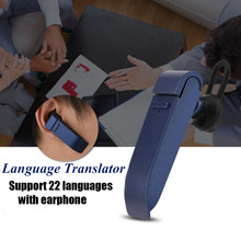 VBESTLIFE Multi-Language instant translator voice Real-time translate with bluetooth earphone traductor for Business Learning